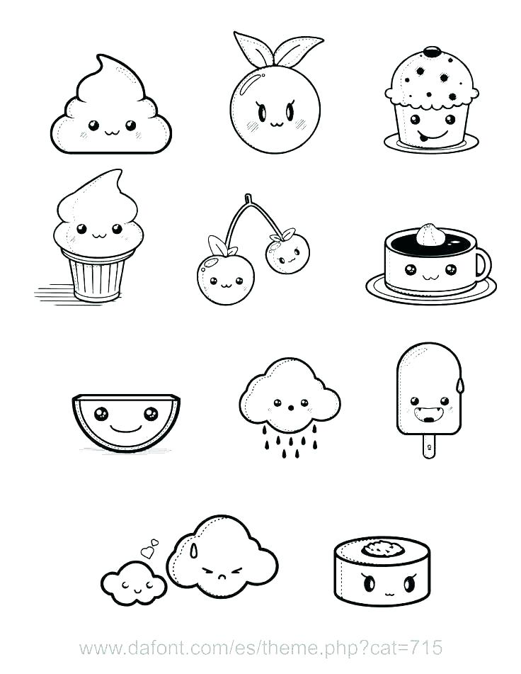 36 tip of the month draw so cute how to draw cute food