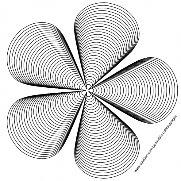3d geometric colouring pages free pdfs from squidoo plus