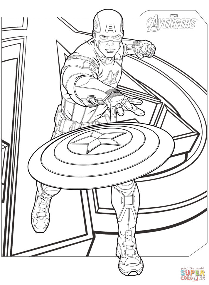 42 most brilliant avengers iron man superhero coloring page
