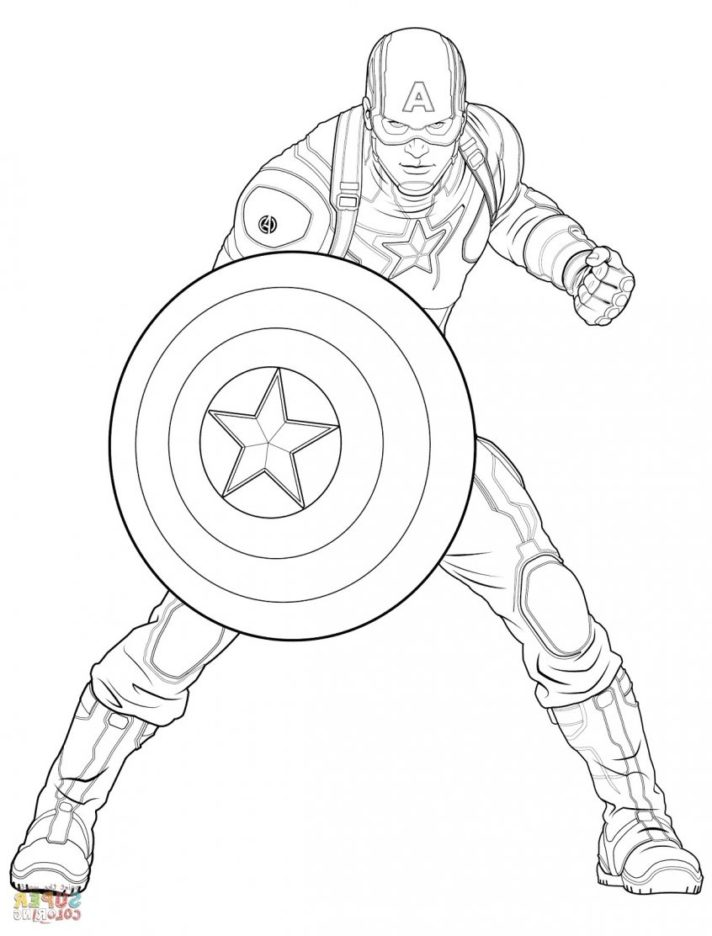 46 most splendid captain america coloring pages civil war