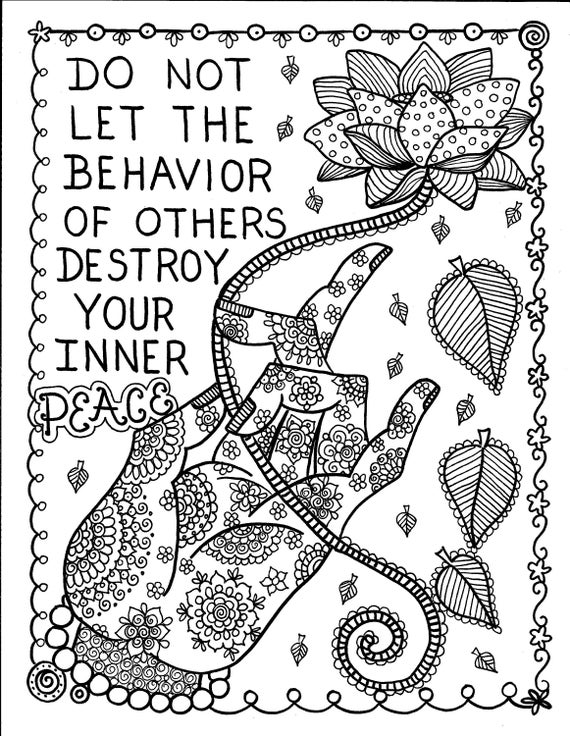 5 pages inspiring coloring pages mantrasyogapeaceomadult coloring coloring books