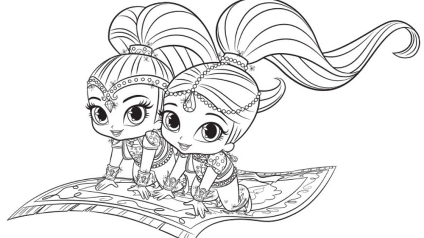 556 shimmer and shine free clipart 5