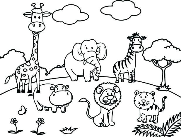 560 zoo animal free clipart 4