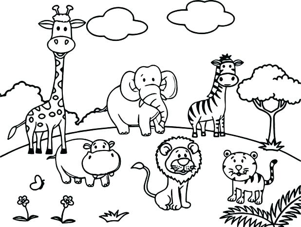 560 zoo animal free clipart 4