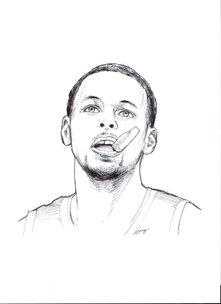 - Stephen Curry Coloring Pages Collection - Whitesbelfast