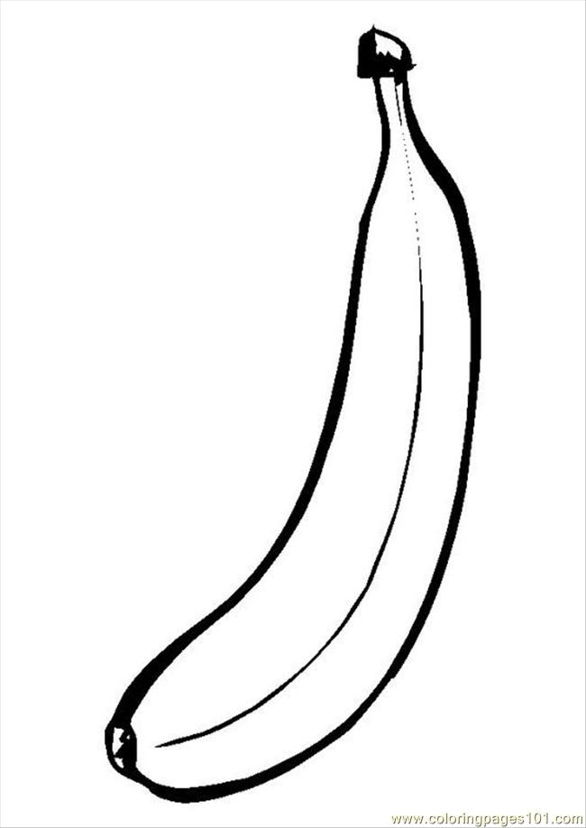 71 ures pages photo banana p9550 coloring page free