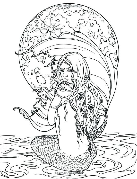 9458 mermaid free clipart 47