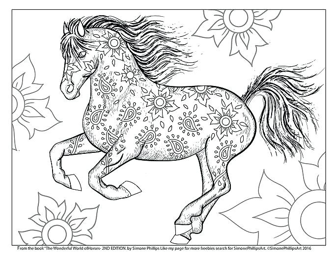 a ba horses coloring pages and horse books for adults clip