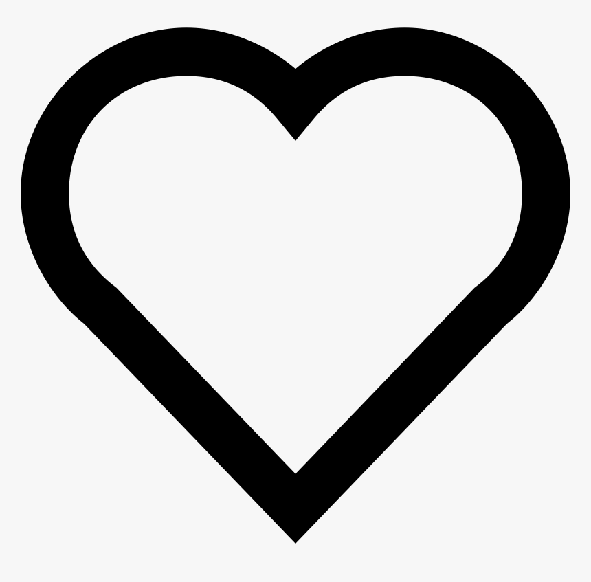 a simple heart emoji heart coloring pages hd png download