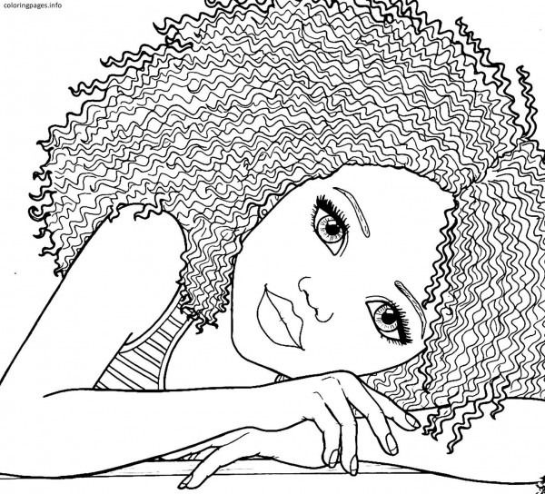 african american girl coloring pages pdf free printable