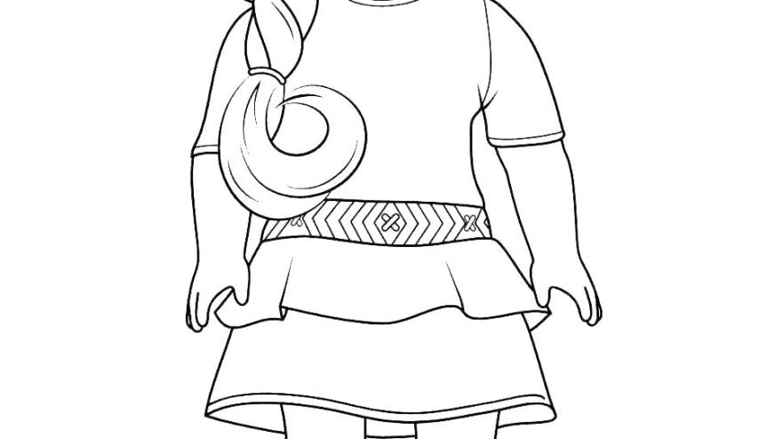 american girl coloring pages doll tenney wigglepro