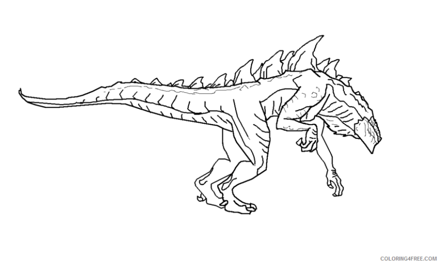 american godzilla coloring pages coloring4free