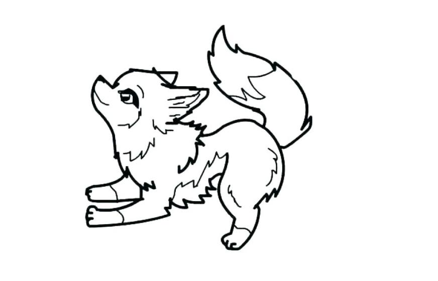 anime wolf coloring pages cantrallco