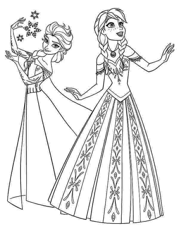 anna and elsa coloring pages disney39s frozen coloring pages