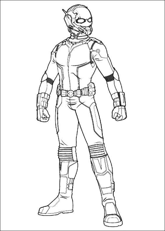 ant man coloring book 2