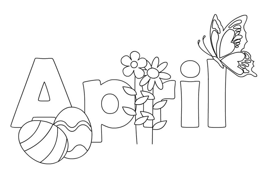 april coloring pages spring coloring pages coloring pages