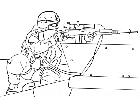 army sniper coloring page free printable coloring pages
