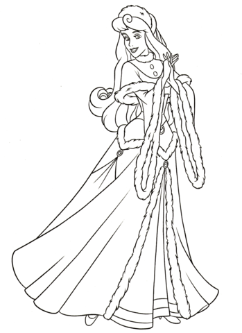aurora coloring page free printable coloring pages