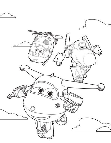ausmalbilder super wings airplane coloring pages coloring
