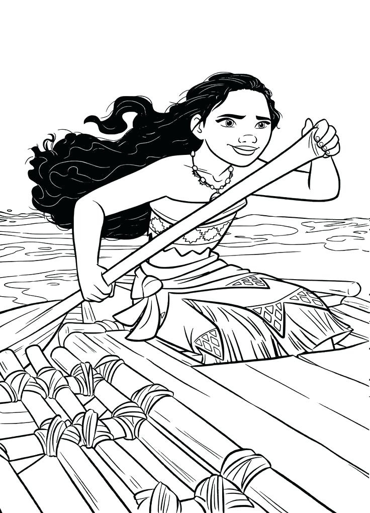 ba moana colouring pages coloring awesome best images