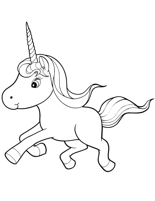 ba unicorn coloring pages coloringme
