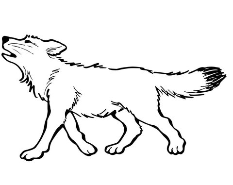 ba wolf coloring page free printable coloring pages