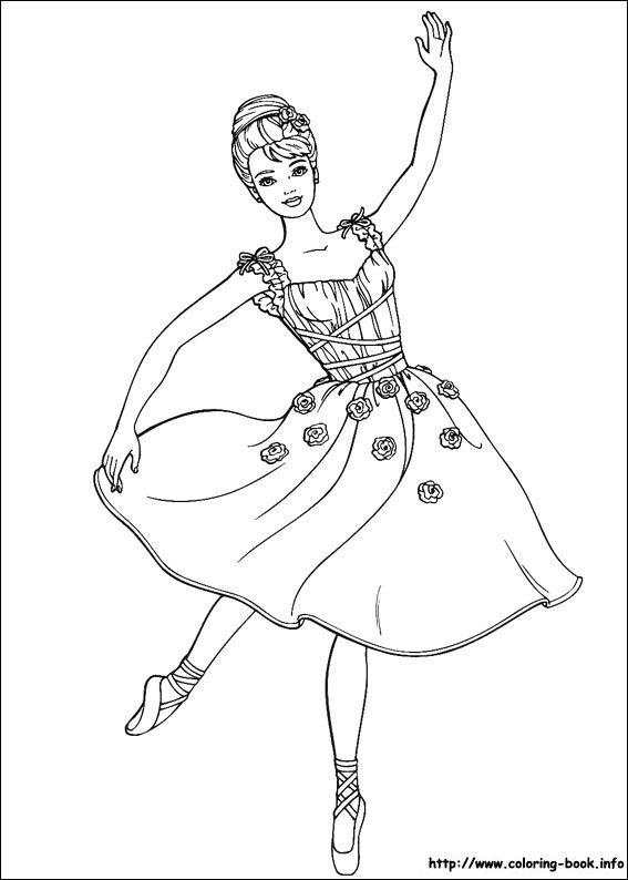 ballerina coloring page malvorlage prinzessin