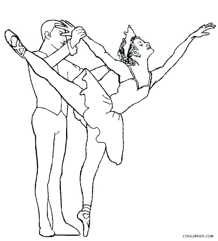 ballerina coloring pages for toddlers of ballerinas