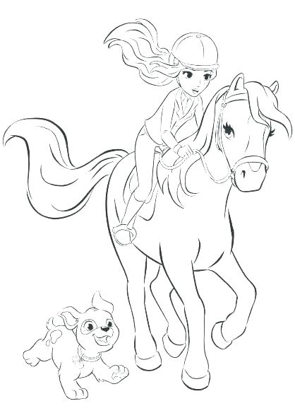 barbie horse coloring pages majesty to print trolls free