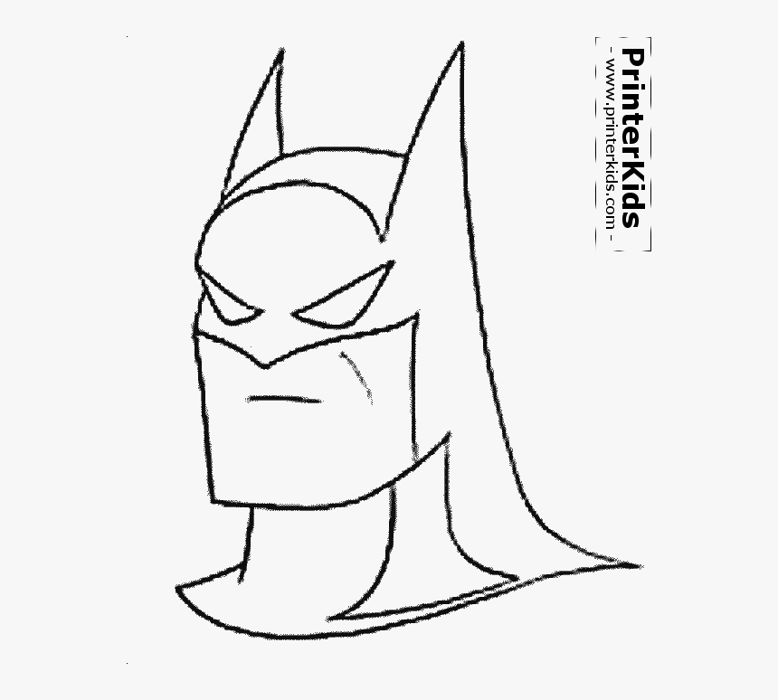 batman head png batman coloring pages for kids