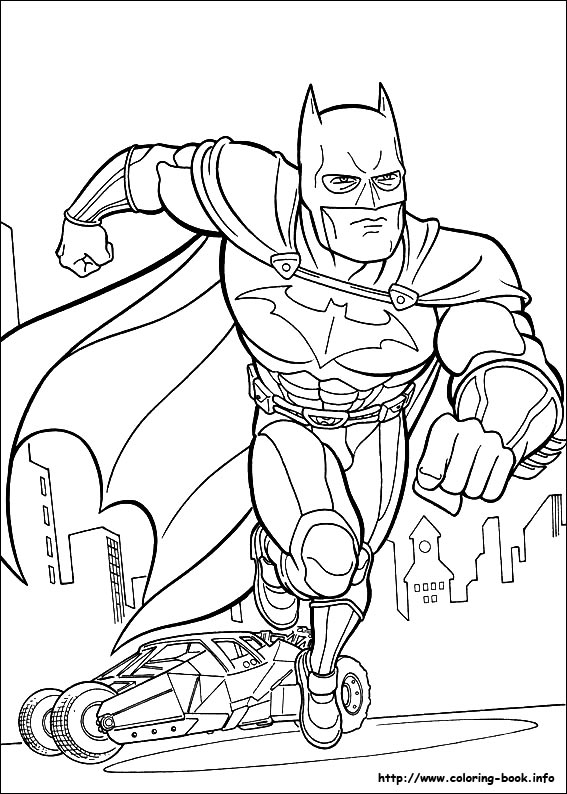 batmobile coloring pages free free fun for kids