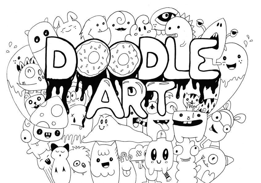 best coloring phenomenal doodle art pages rachel books