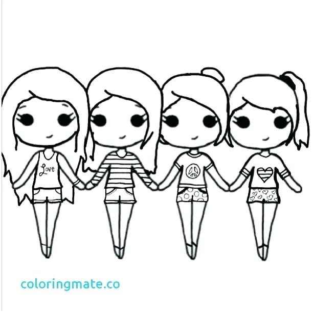 best friend coloring pages at getdrawings free for