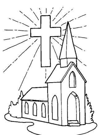 bible coloring page church coloring page all kids network