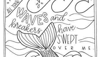 Bible Coloring Pages for Kids (Download Now) PDF Printables | 200x350