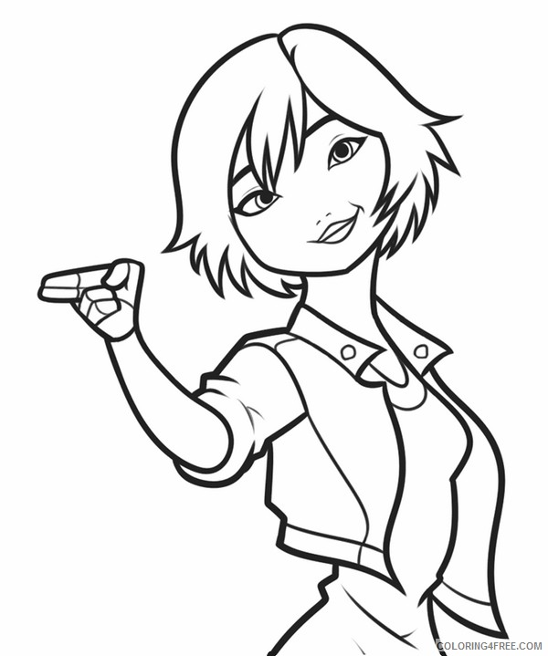 big hero 6 coloring pages printable coloring4free