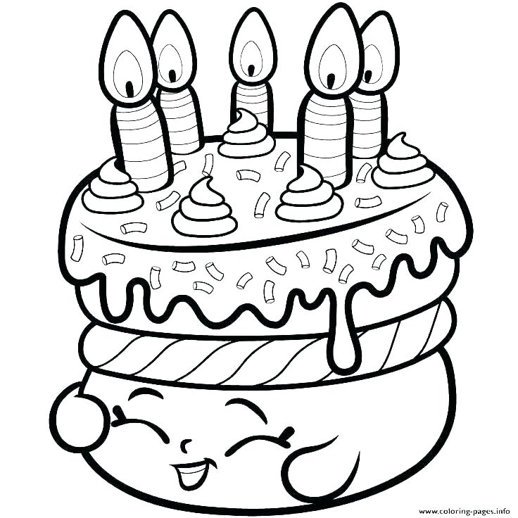 birthday cake coloring pages arpitbatra