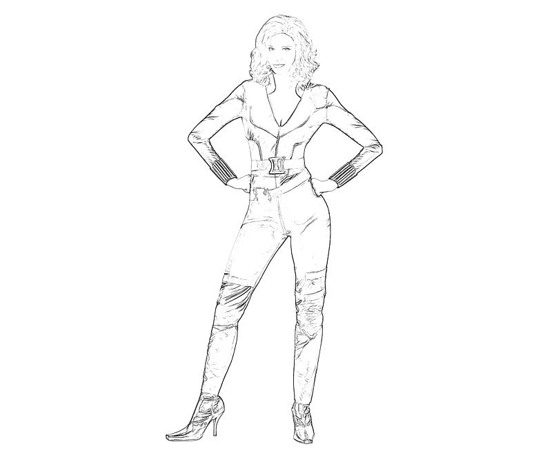 black widow coloring pages avengers black widow coloring