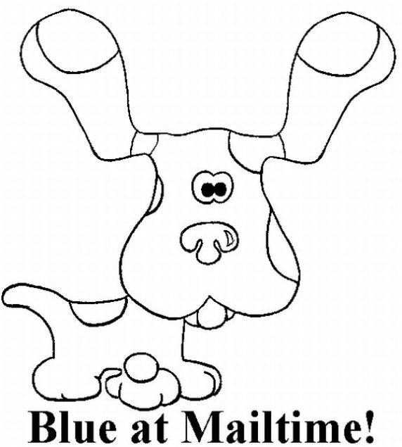 blues clues coloring pages fantasy coloring pages