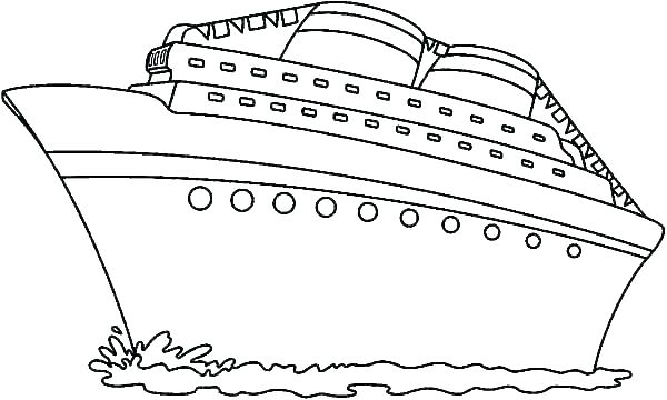 boat coloring sheet hottestnews