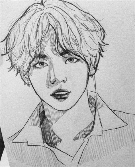 bts drawing coloring pages in 2020 manga zeichnungen