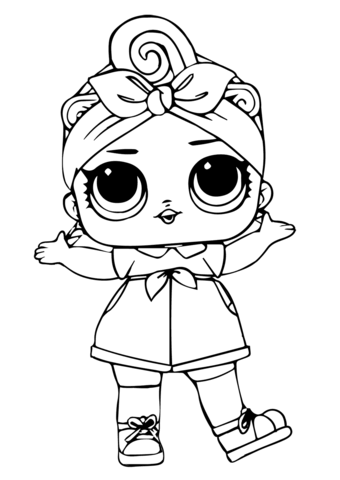 can do ba lol surprise doll coloring page free printable