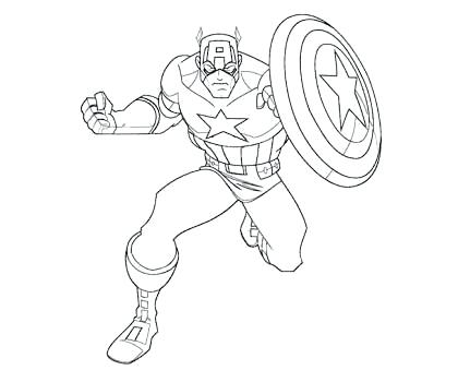 captian america coloring pages siirthaber