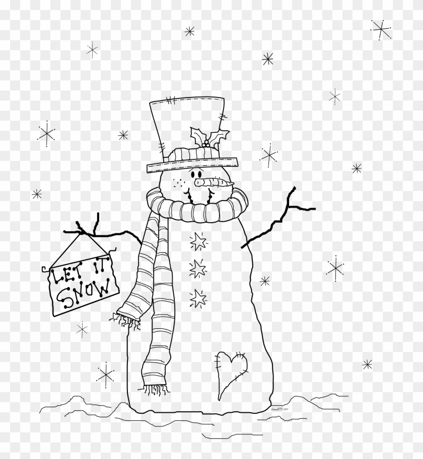 change the holly let it snow coloring pages clipart