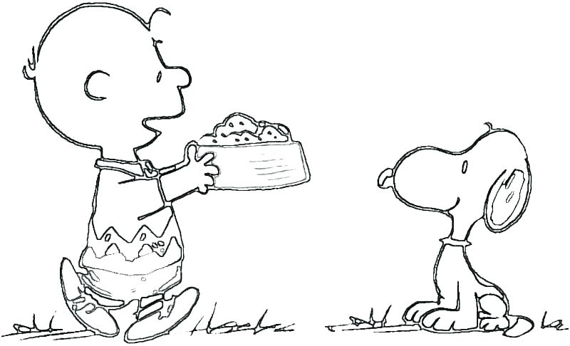 charlie brown coloring page barfpro