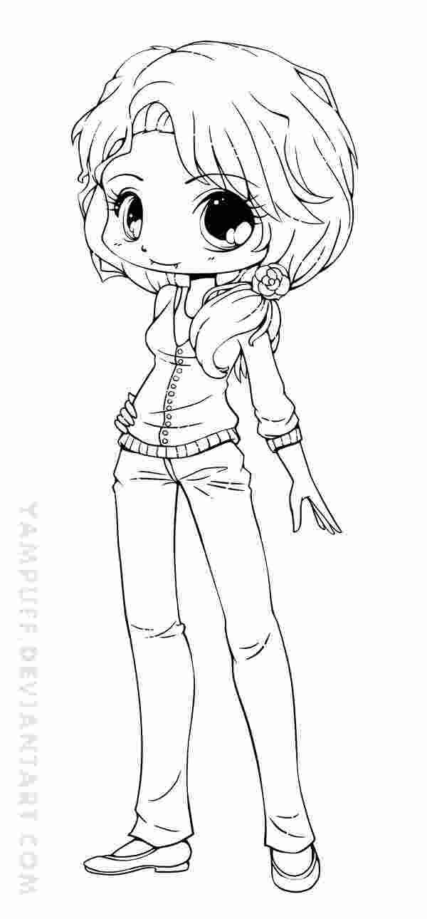 chibi girl coloring pages kaigobank