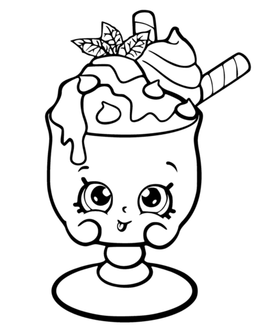 choc mint charlie shopkin coloring page free printable