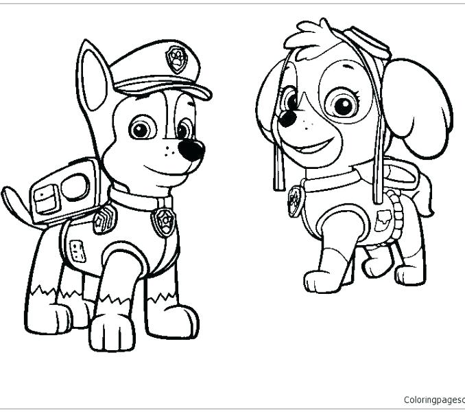 christmas paw patrol coloring pages teless