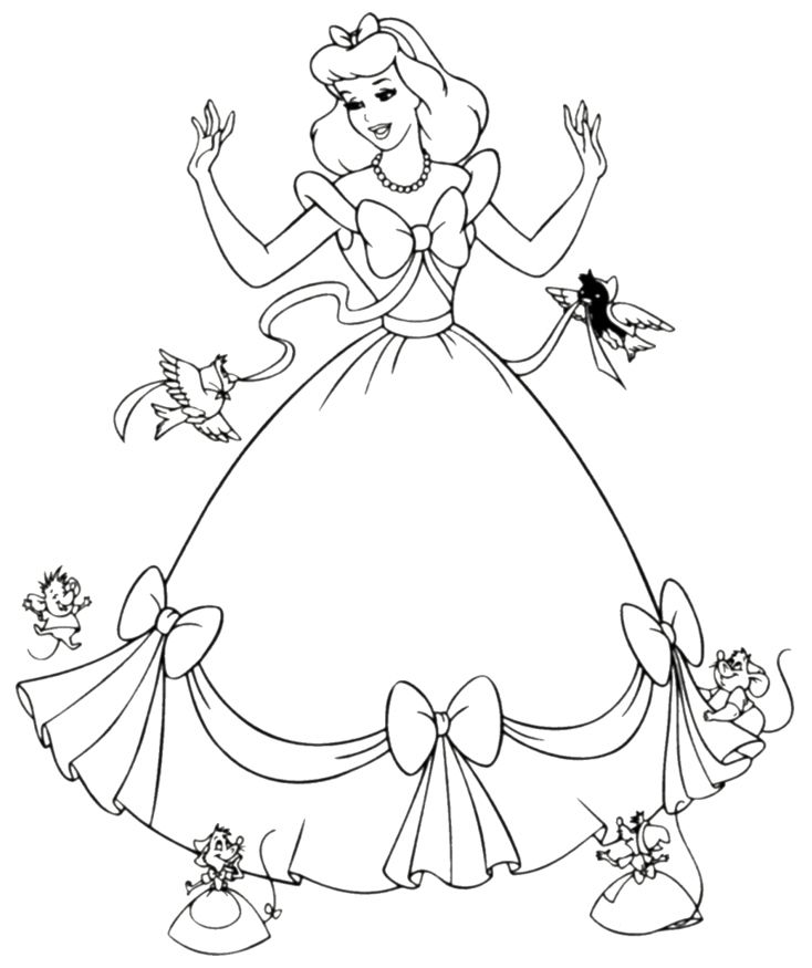 cinderella for coloring station cinderella coloring