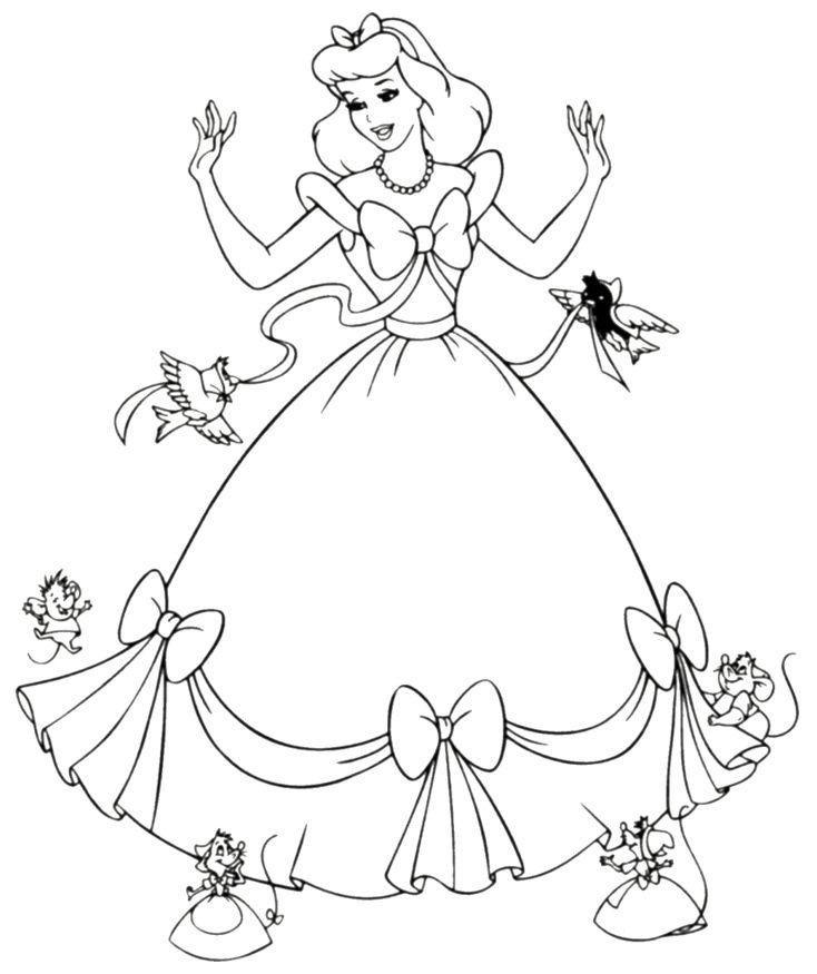 cinderella for coloring station cinderella coloring